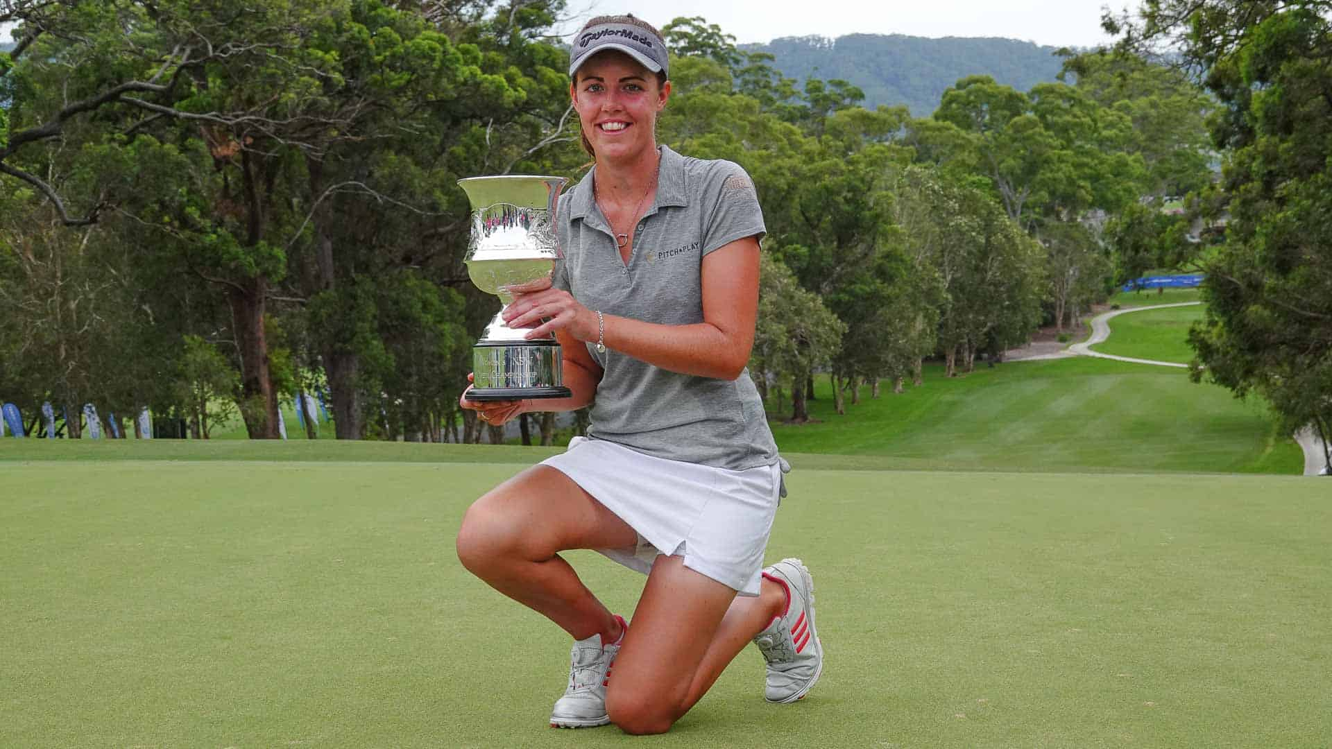 MacLaren Claims Women's Open Crown
